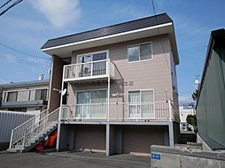 屯田3−8アパート[2階]の外観