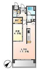 Epoch IKAI(エポック イカイ)[2階]の間取り
