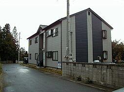 長野県安曇野市三郷温の賃貸アパートの外観