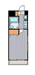 メゾンミール川崎大師[3階]の間取り