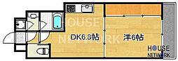 Grand Eterna京都[1413号室号室]の間取り
