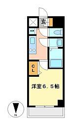 プレサンス丸の内レジデンスIII[13階]の間取り