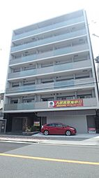 大阪府大阪市東住吉区湯里2丁目の賃貸マンションの外観