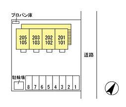 (仮)D-room西新井町[201号室]の外観