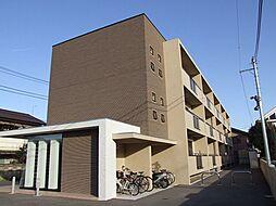 栃木県宇都宮市陽東8丁目の賃貸マンションの外観