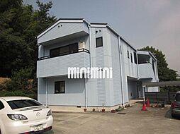 愛知県日進市折戸町定納の賃貸アパートの外観