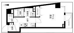 K2高円寺[208号室]の間取り