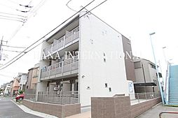 東京都調布市多摩川3丁目の賃貸マンションの外観