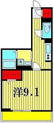 (仮)D-room吉川市保一丁目 3階1Kの間取り