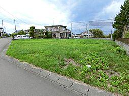 角田市岡字駅前北 建築条件無し売地