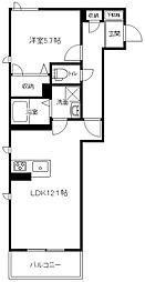 (仮称)港南中央マンション[102号室]の間取り