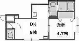 ハウスオブマーキス4[106号室]の間取り