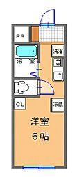 グランコート伊勢崎[2階]の間取り