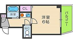 インターナショナル上汐[9階]の間取り