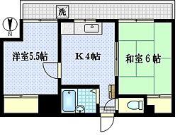 第2上田ビル[2階]の間取り