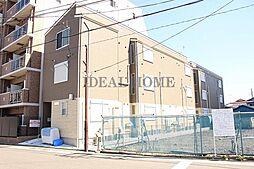 神奈川県川崎市川崎区浜町3丁目の賃貸アパートの外観