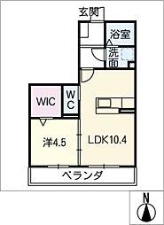 仮)D−room徳田[3階]の間取り