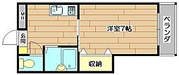 インティマシィ・7[1階]の間取り