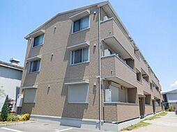 大阪府摂津市鳥飼下3丁目の賃貸アパートの外観