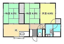[一戸建] 神奈川県中郡大磯町高麗2丁目 の賃貸【/】の間取り