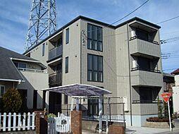 埼玉県川口市赤井1丁目の賃貸マンションの外観