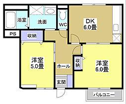 ステージアII[1階]の間取り