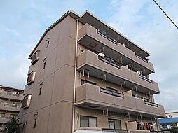 愛知県北名古屋市高田寺砂場の賃貸マンションの外観