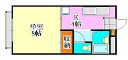 コーポ川島第五[303号室]の間取り