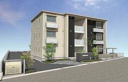 兵庫県三木市平田の賃貸マンションの外観