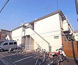 京都府京都市上京区石薬師通中筋西入新夷町の賃貸アパートの外観