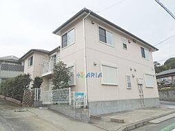 神奈川県横浜市鶴見区梶山2丁目の賃貸アパートの外観