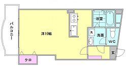 第8川崎ビル[505号室]の間取り