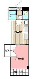 グランドマンション小倉[706号室]の間取り