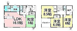 信濃吉田駅 2,880万円