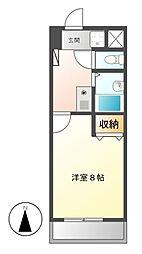 ベル千種[4階]の間取り