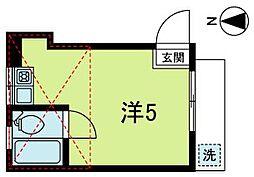 高円寺パレス パートII[1階]の間取り