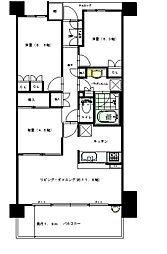 パークスクエア神戸大石[5階]の間取り