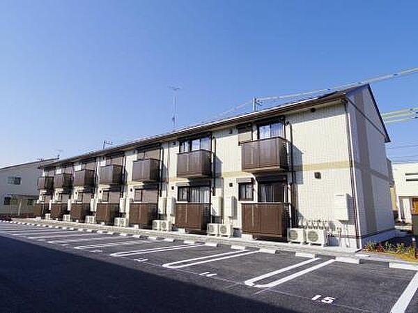 茨城県つくば市研究学園2丁目の賃貸アパート