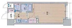 プレサンス御幣島ステーションフロント[407号室]の間取り