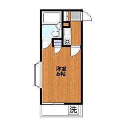 緑町共和ビル[301号室]の間取り