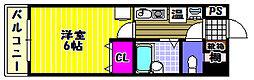 レイナ錦織[3階]の間取り