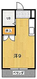 メゾン安田[3階]の間取り