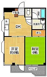 大宮ヤマトビル[3階]の間取り