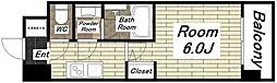 スプランディッド難波I[14階]の間取り