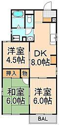 トリニティ小島[2階号室]の間取り