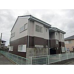静岡県浜松市南区西伝寺町の賃貸アパートの外観