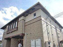 兵庫県小野市黒川町字物見ヶ岬の賃貸アパートの外観