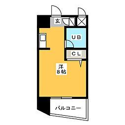 ピュアドーム博多レビュー[11階]の間取り