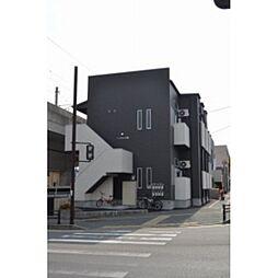福岡県福岡市東区筥松3丁目の賃貸アパートの外観