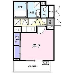 フレグランス中央[2階]の間取り